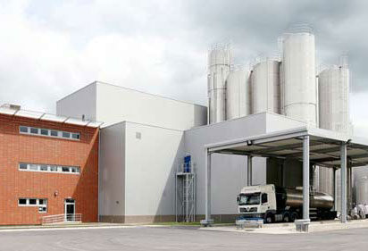 Sample food processing plant